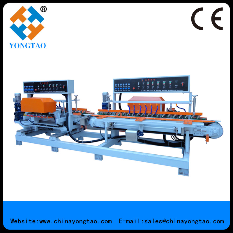Stone straight edge polishing machine