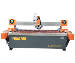 YJ-2515-5L 5 Axis High Pressure Metal Water Jet Cutter