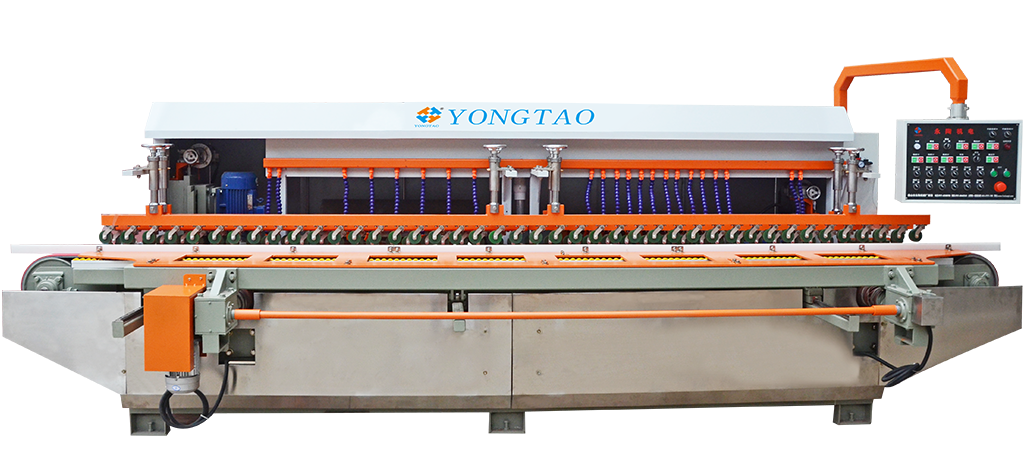 YSMDP-800 (1+6)-(2+6) Stone Flat Bevel Edge Polishing Machine