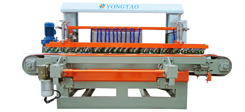 YSMP-800 1+8 Stone Flat Edge Polishing Machine