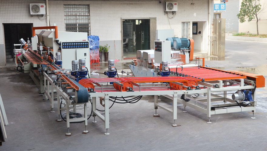 YTQZ-B/2-800 Two Spindle Automatic Wet Tile Cutter