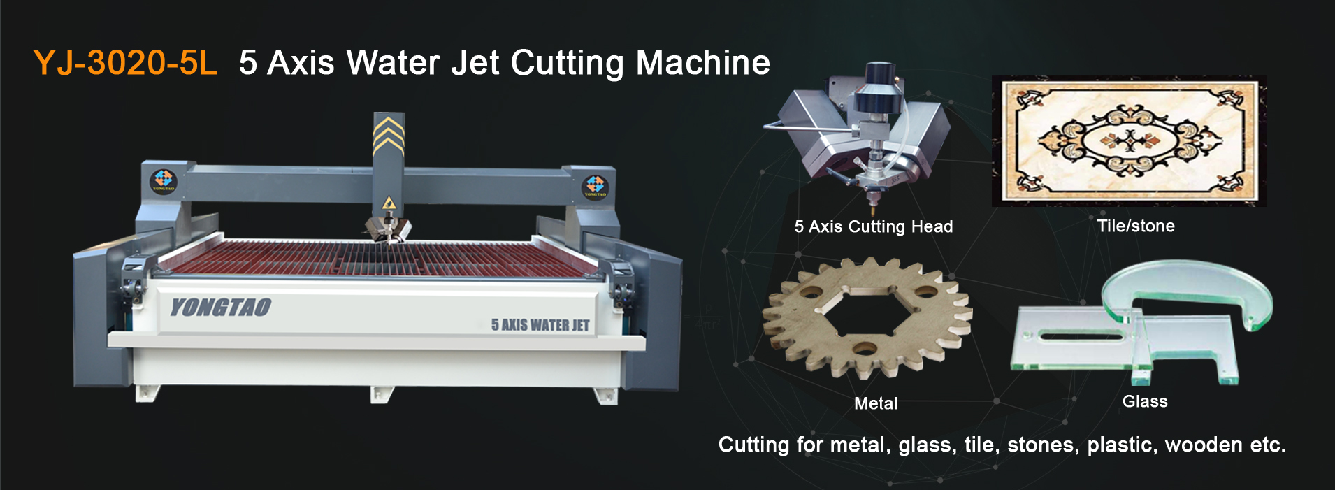 Water Jet Metal Cutting Machine