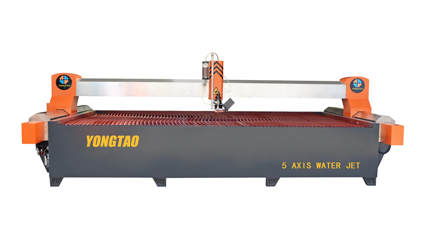 YJ-4020-5L 5 Axis CNC Water Jet Stone Cutting Machine