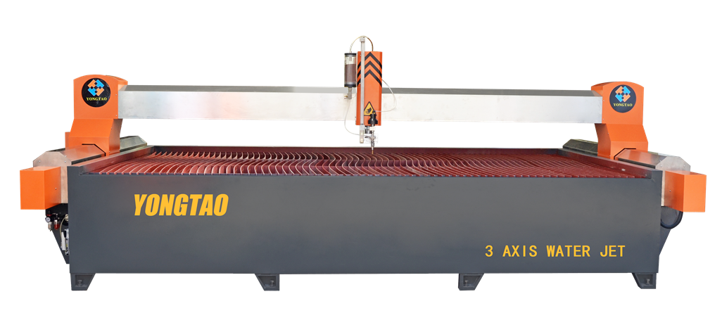 YJ-4020-3L 3 Axis Water Jet Glass Cutting Machine