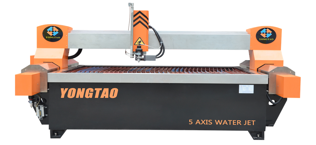 YJ-2015-5L 5 Axis Water Jet Tile Cutting Machine