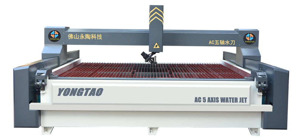 YJ-3020-5L AC 5 Axis Water Jet Marble Cutting Machine