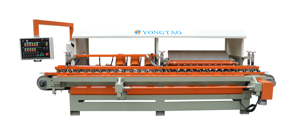 YTMDP-1200/3+3+10 45 Degree Edge Porcelain Tile Polishing Machine