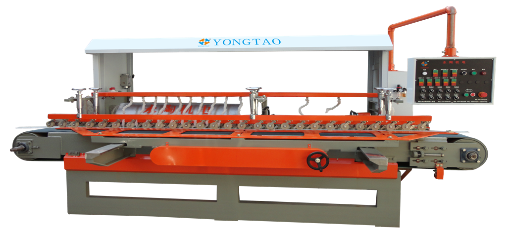 YSMDP-800 1+2+8 Stone Bevel Edge Polishing Machine