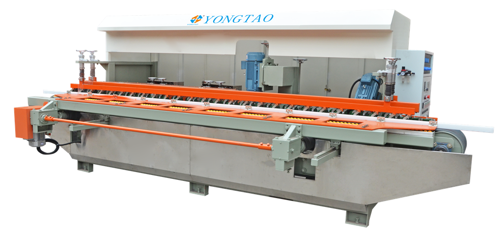 YSKP-1200 3+4 Stone Groove Cutting And Polishing Machine