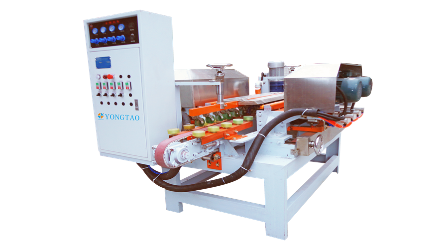YSR-2 4+4 Stone Double Flat Edge Polishing Machine