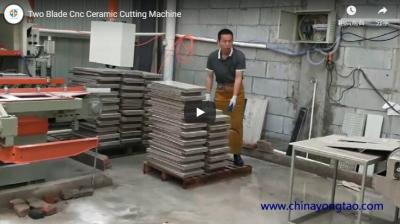 YTQZ-A/2-1200 Two Blade CNC Ceramic Tile Cutting Machine