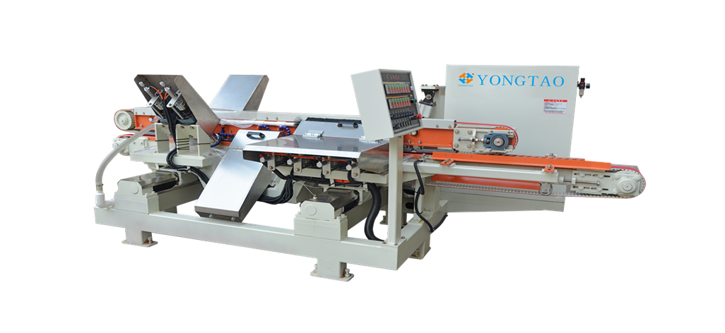 YSMDP-250 4+2+2 Quartz Double Flat Bevel Edge Polishing Machine