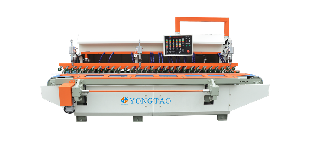 YSMDP-800 1+6-1+2 Stone Flat Bevel Edge Polishing Machine