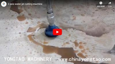 YJ-2015-3L 3 Axis Water Jet Cutting Machine