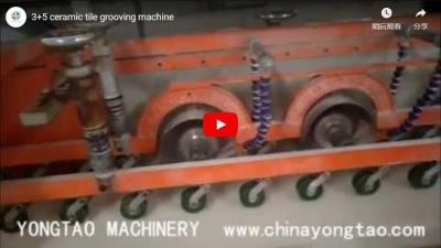 YTKP-1200 8 Head Ceramic Tile Grooving Machine