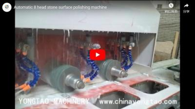 YSXP-250 8 Head Automatic Marble Profiling Polishing Machine