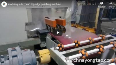 Quartz Stone Countertop Round Edge Polishing Machine