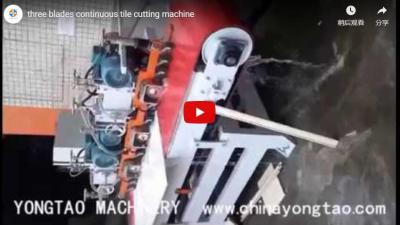 YTQZ-A/3-1200 Three Blades CNC Tile Cutting Machine