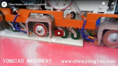 YTQZ-A/3-1200 Three Blade Cnc Wet Ceramic Cutting Machine