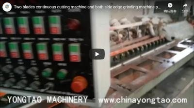 Two Blade Porcelain Tile Cutting Machine