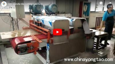 YTQZ-B/2-1000 Two Spindle Automatic Wet Tile Cutting Machine