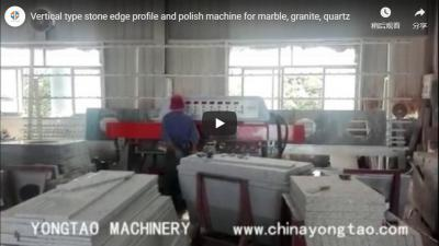 8 Head Granite Edge Profile Polishing Machine For Marble, Stone, Quartz