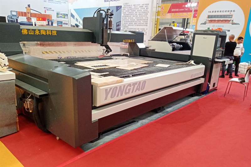 Large water jet cutting machine