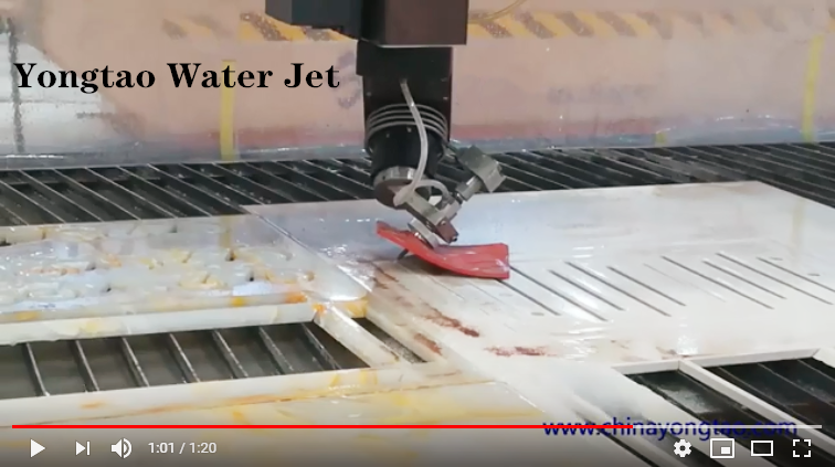 YJ-3020-5L AC 5 axis cnc water jet cutting machine