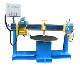 YSQS-1500 Two Heads Stone Round Table Cutting Machine