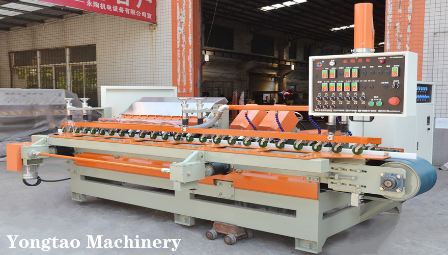 YTMDP-1200/2+2+10 Ceramic Tile Bevel Edge Polishing Machine