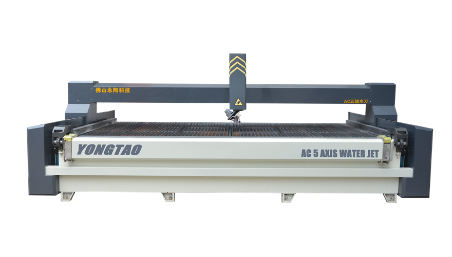 YJ-4020-5L AC 5 axis CNC Water Jet Cutting Machine