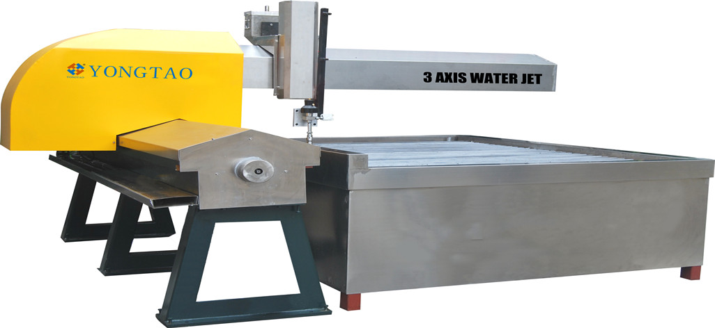 YJ-1313-3X Small CNC 3 axis water jet cutting machine