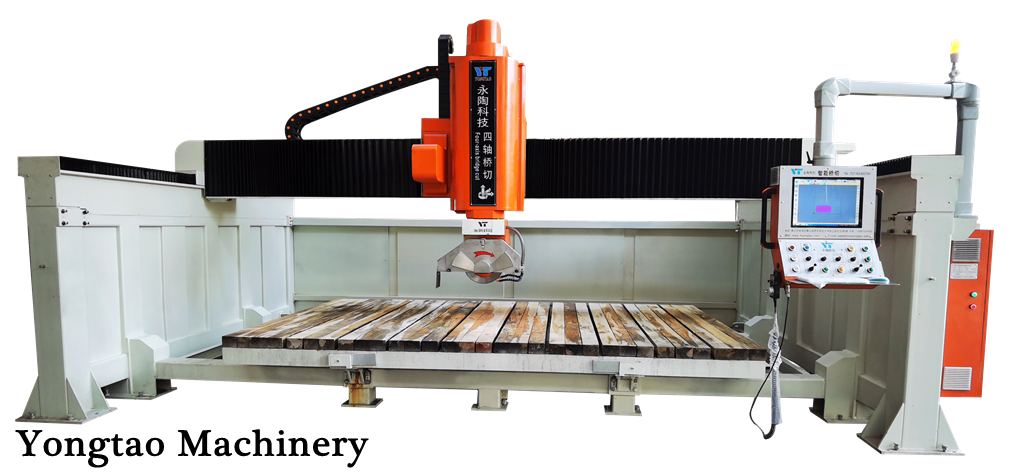 YSQZ-3200-4L Four Axis Stone Bridge Saw