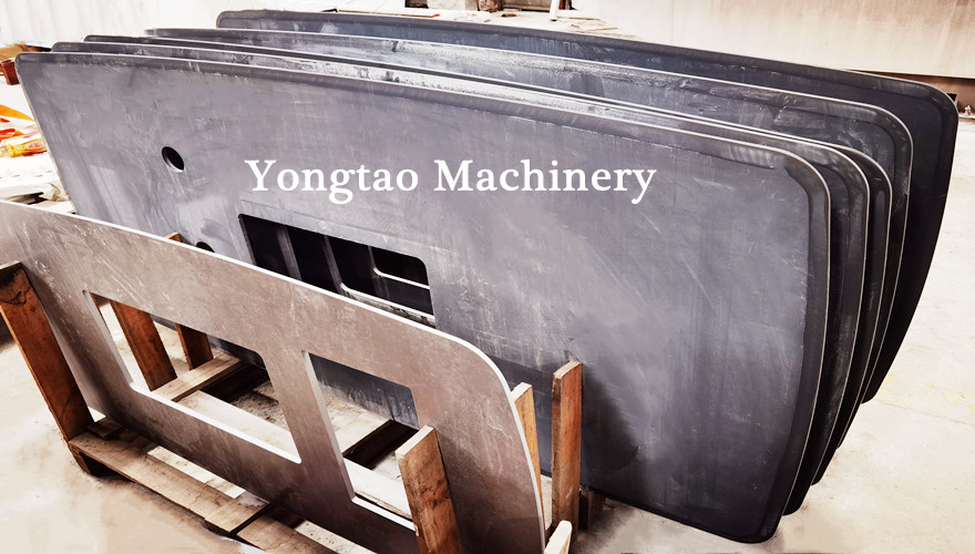 YAMDP-1800 14 head sintered stone arc beveled polishing machine